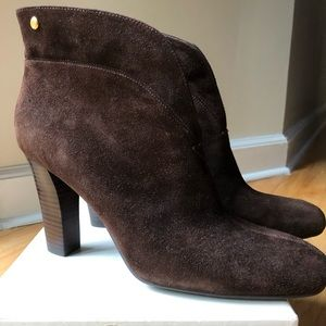 Enzo Angiolini brown suede boots size 10